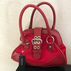 NWT Guess Sidekick mini bag red